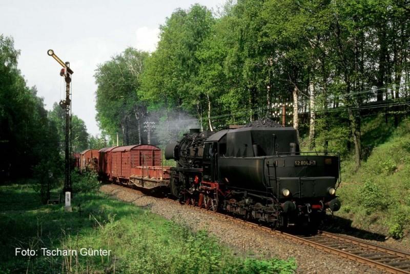 52 8043 Bw Zittau Mai 1981 bei Neugersdorf 1943 Borsig Ci