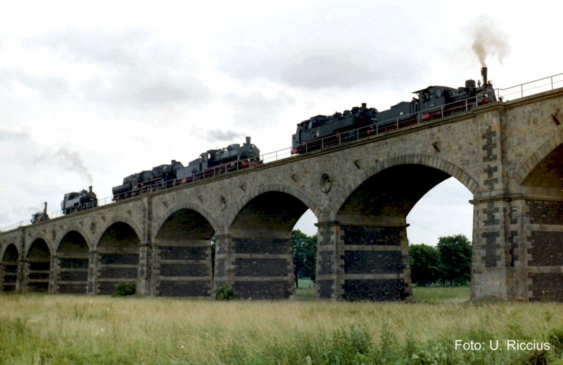 Lokparade Viadukt Zittau Kopie