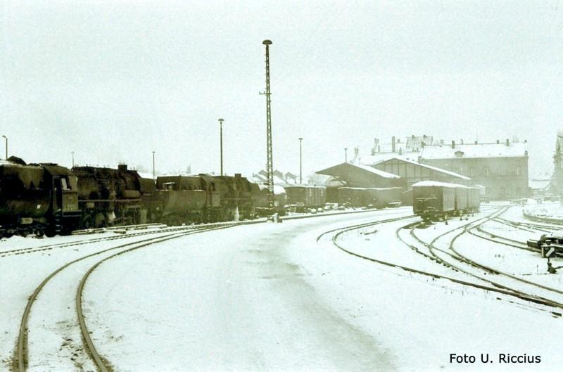 Zittau Winter Regel-Schmalspur1985 Kopie