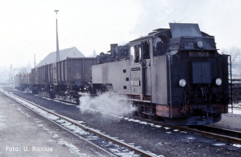 Olbersdorf  Oberdorf  Februar 1984 Kopie