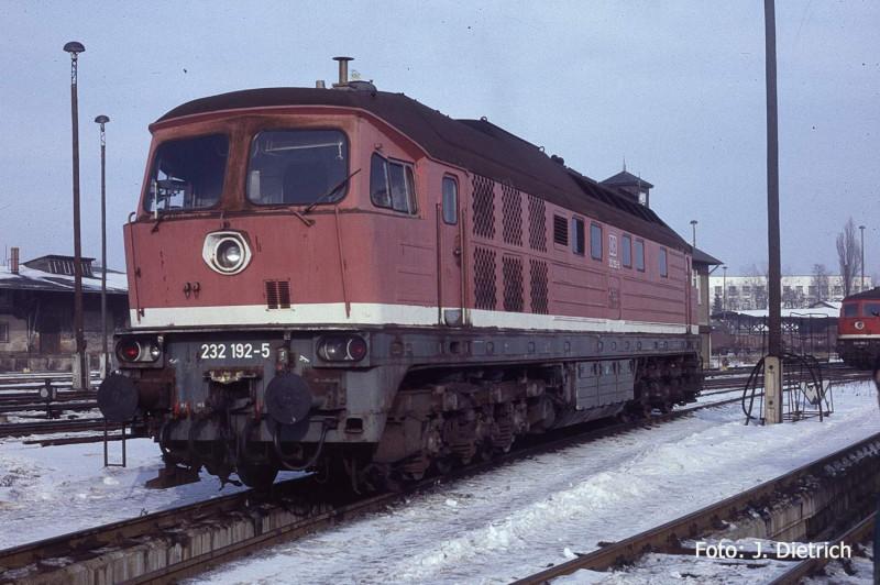 DB 232 192 Bw Zittau ca. 1998 Foto Joachim Dietrich Kopie